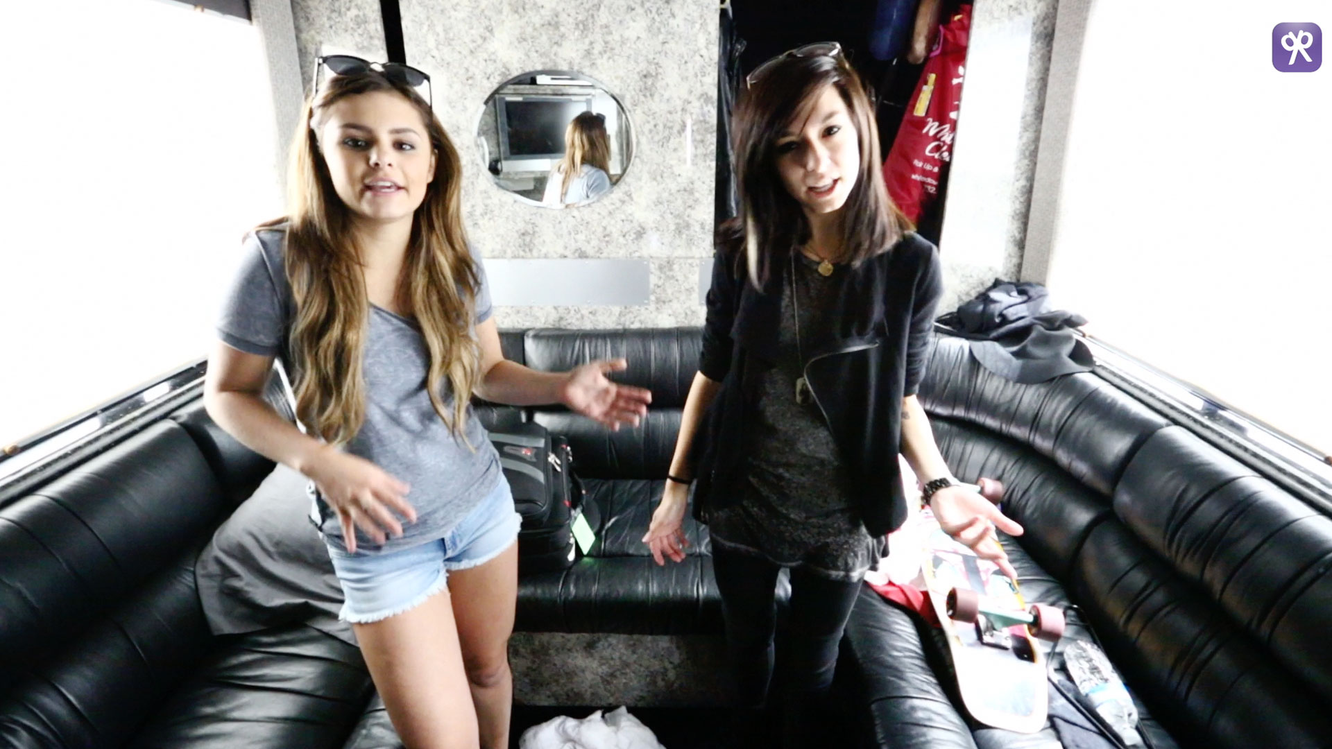 Christina and Jacquie's Tour Bus Tour