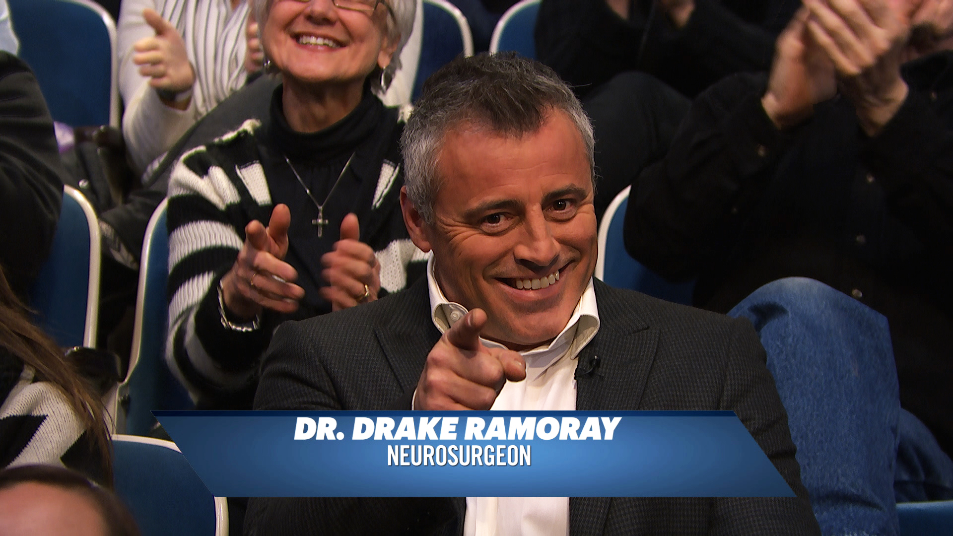 """Dr. Drake Ramoray Stopped By """"Late Night With Seth Meyers"""" And It Was Perfect"""